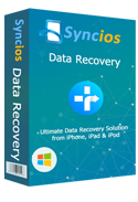 syncios data recovery windows版の画像